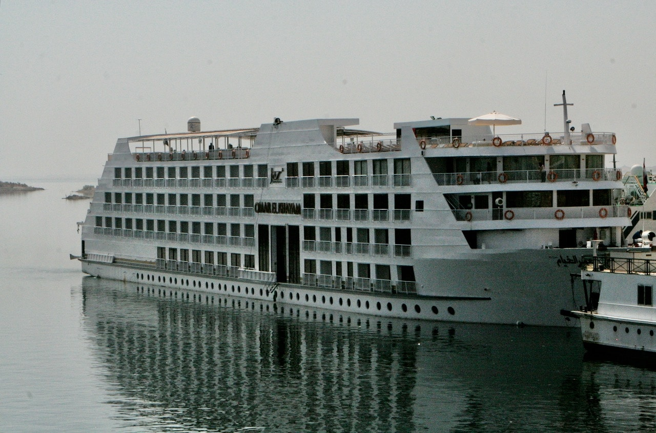 Nile River Cruise boat © dan ilves
