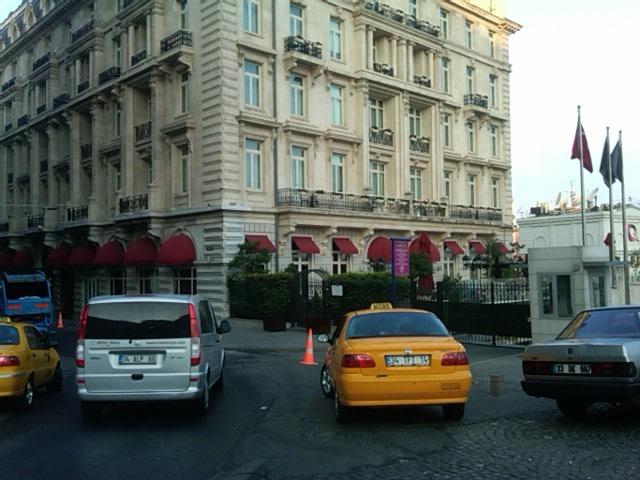 Pera Palace Luxury hotel in Istanbul, Turkey