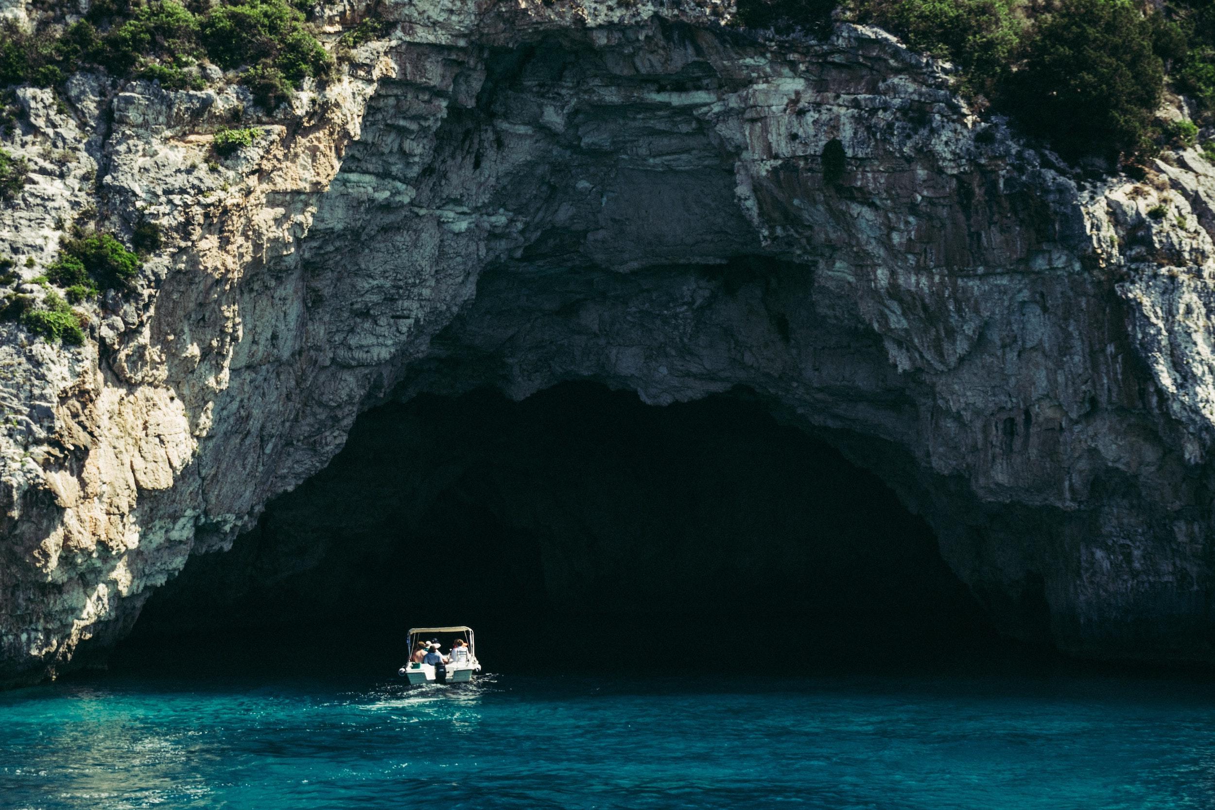 Aquatic Caves of Greece