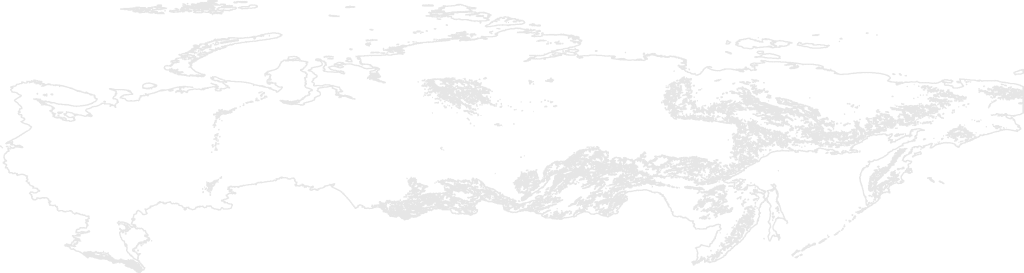 Russia contour map