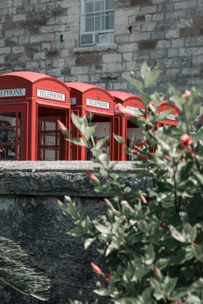 bermuda telephone box