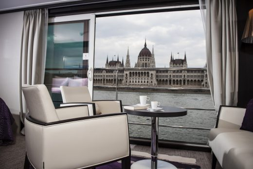 Danube river view @ Avalon Waterways