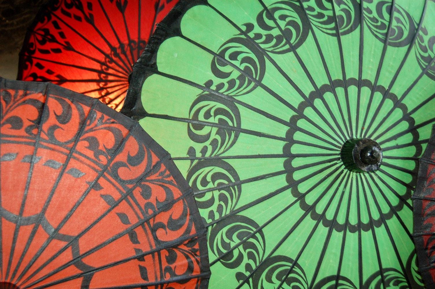 umbrellas @ Katie Cadar