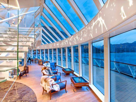Viking ocean cruise lounge