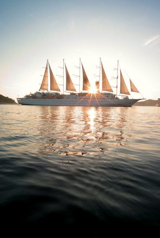 Windstar sailing ship
