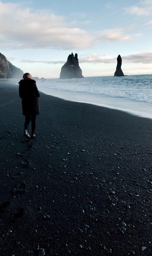 Iceland seashore