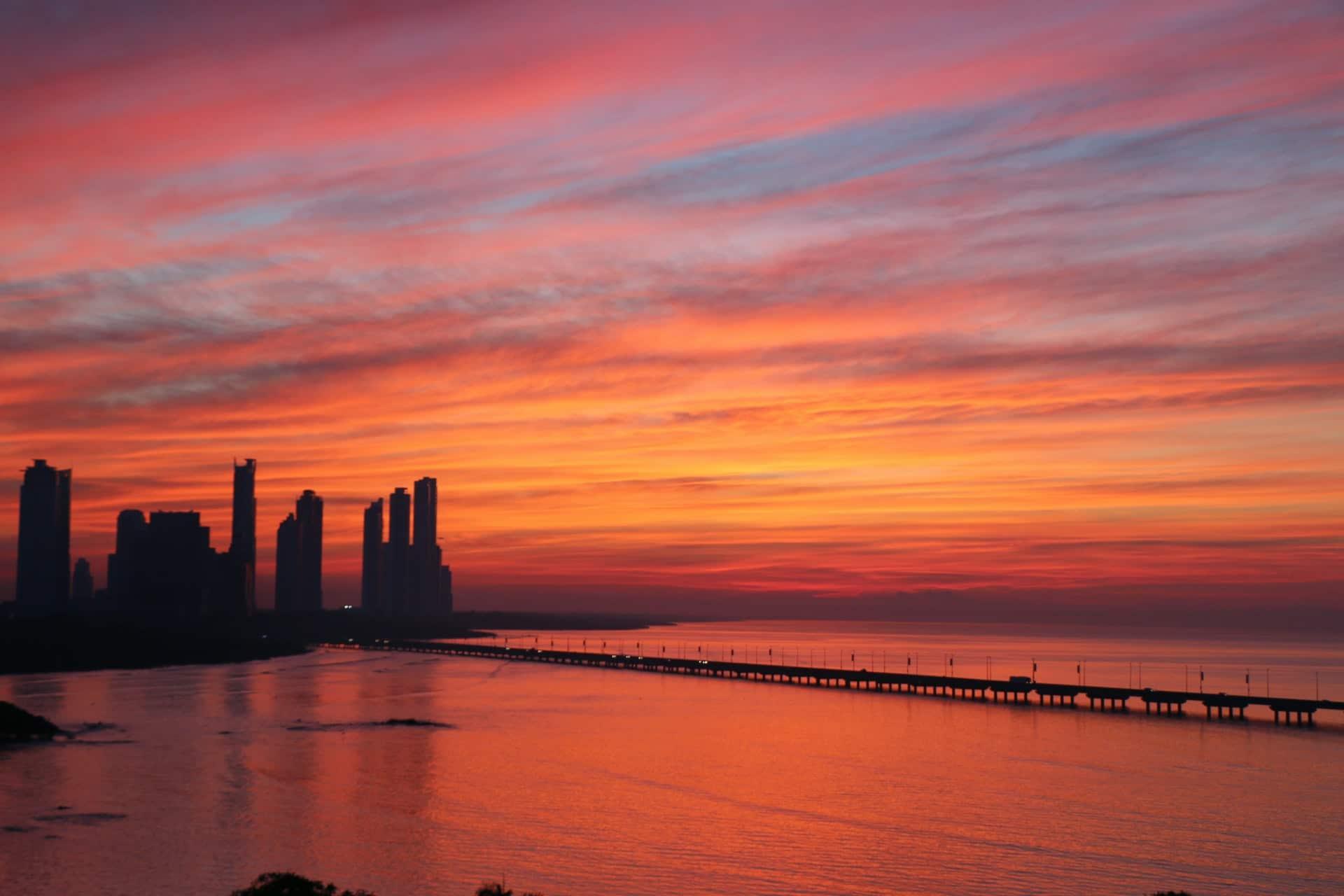 Panama sunset, Photo by Alejandro Carvallo on Unsplash