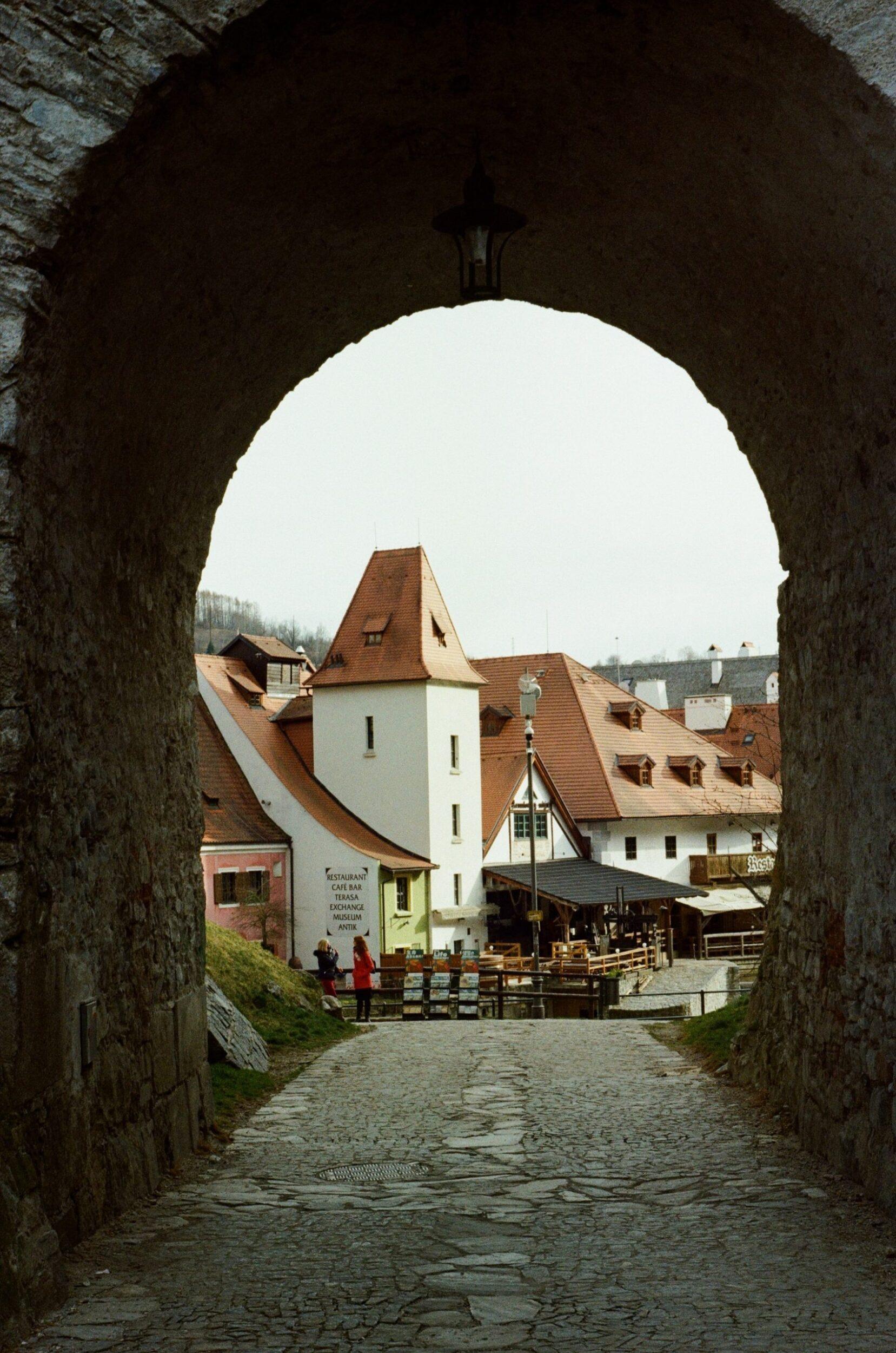 Český Krumlov archway