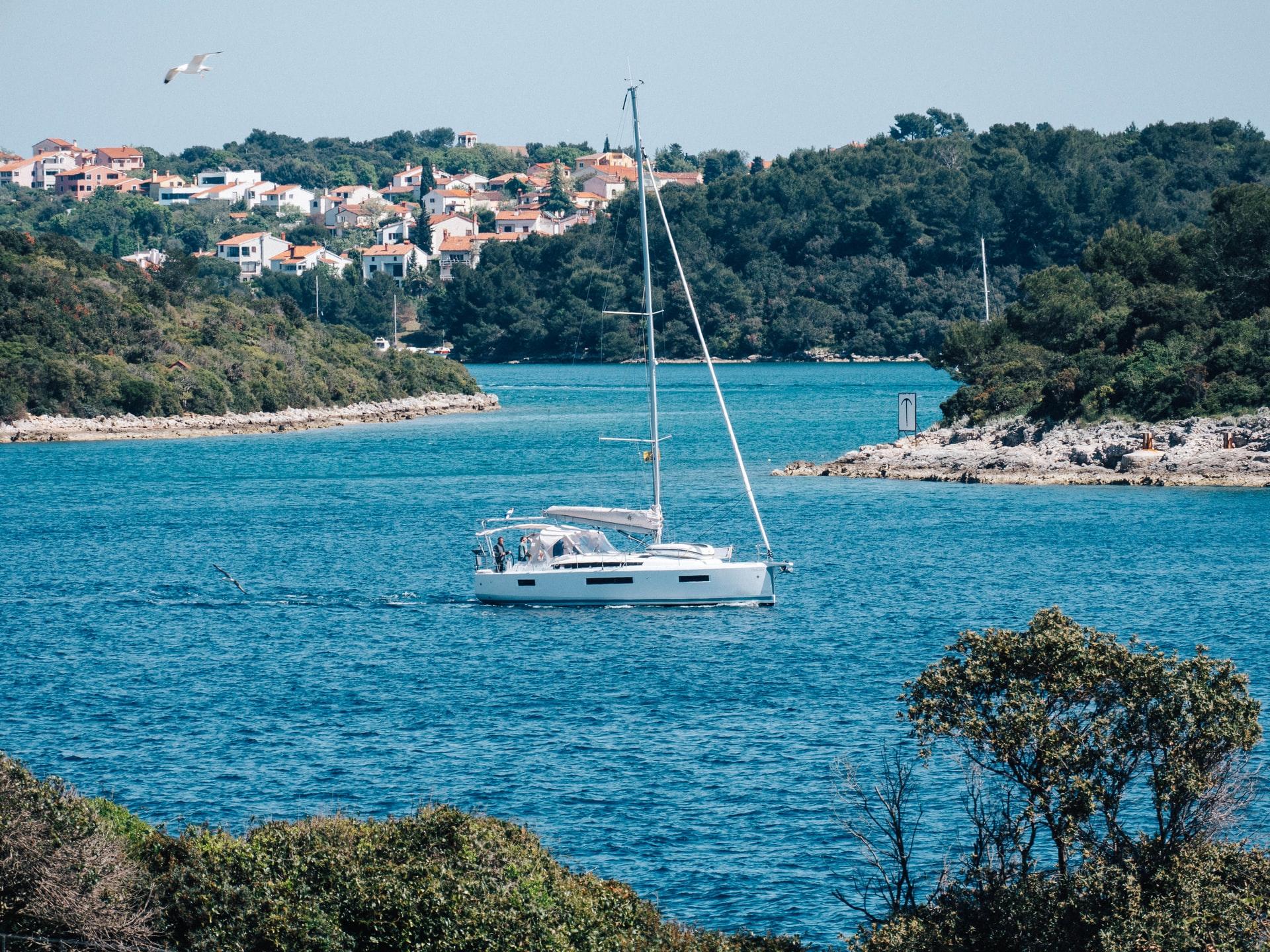 Croatia seen by boat