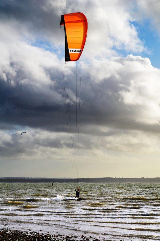 enjoy kiteboarding