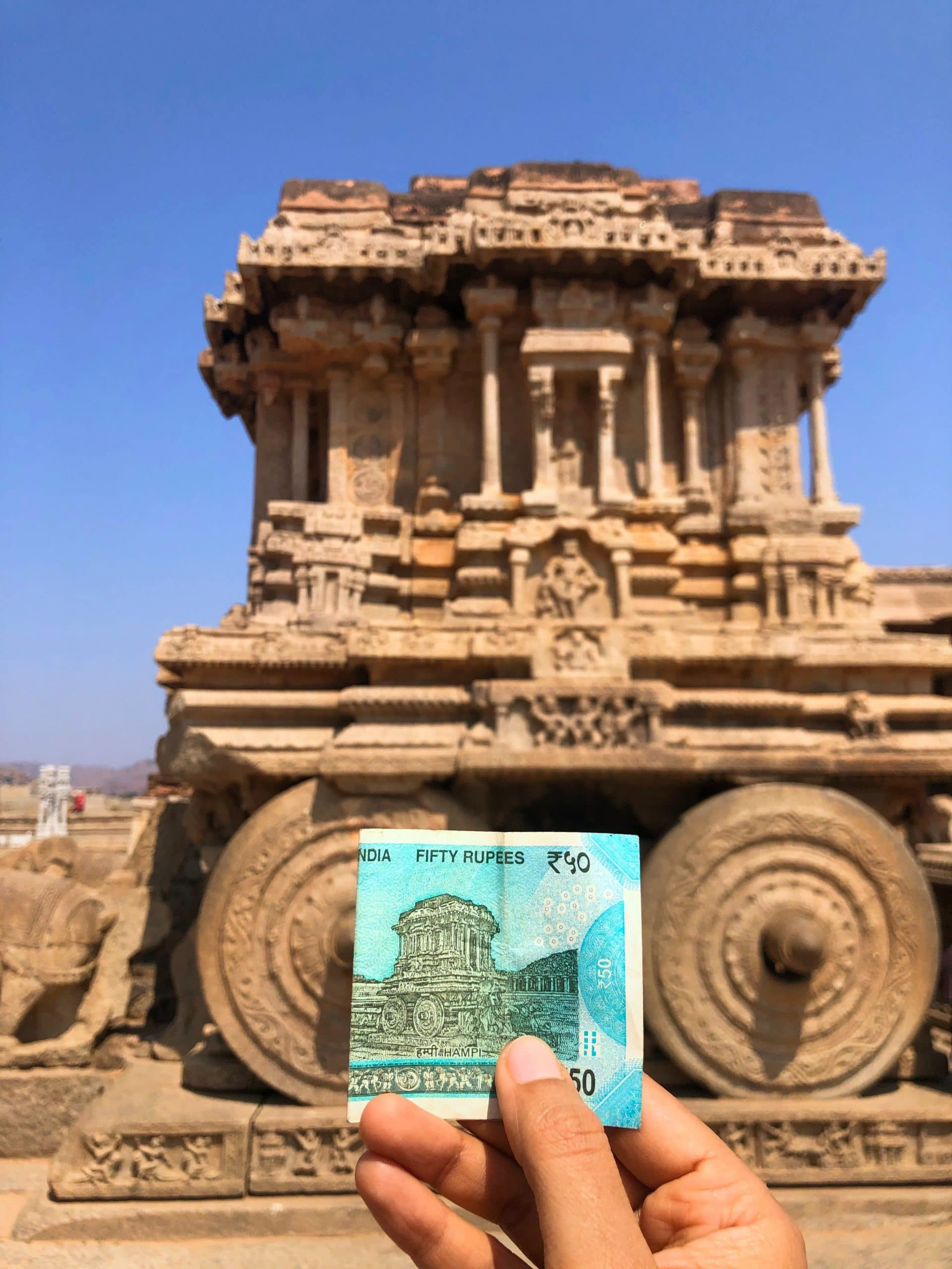Stone Chariot in India