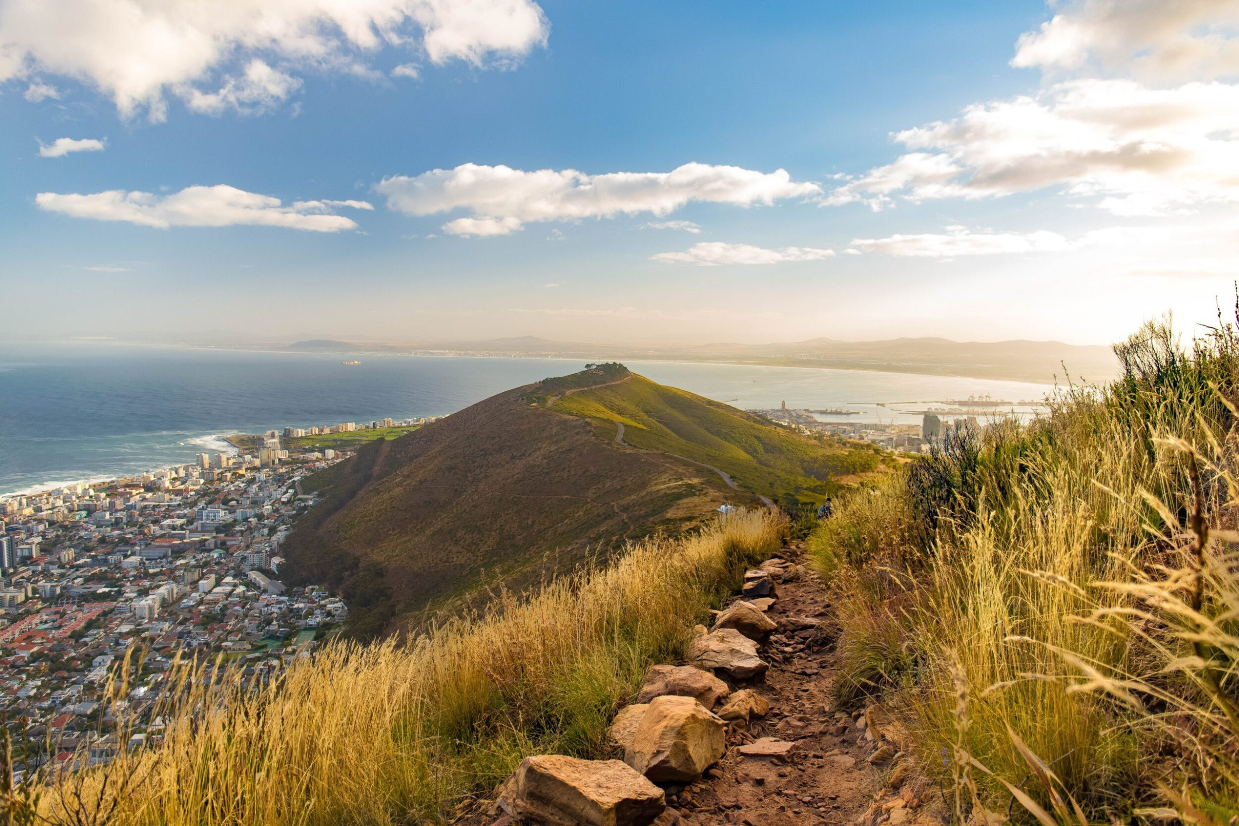 views above Cape Town South Africa
