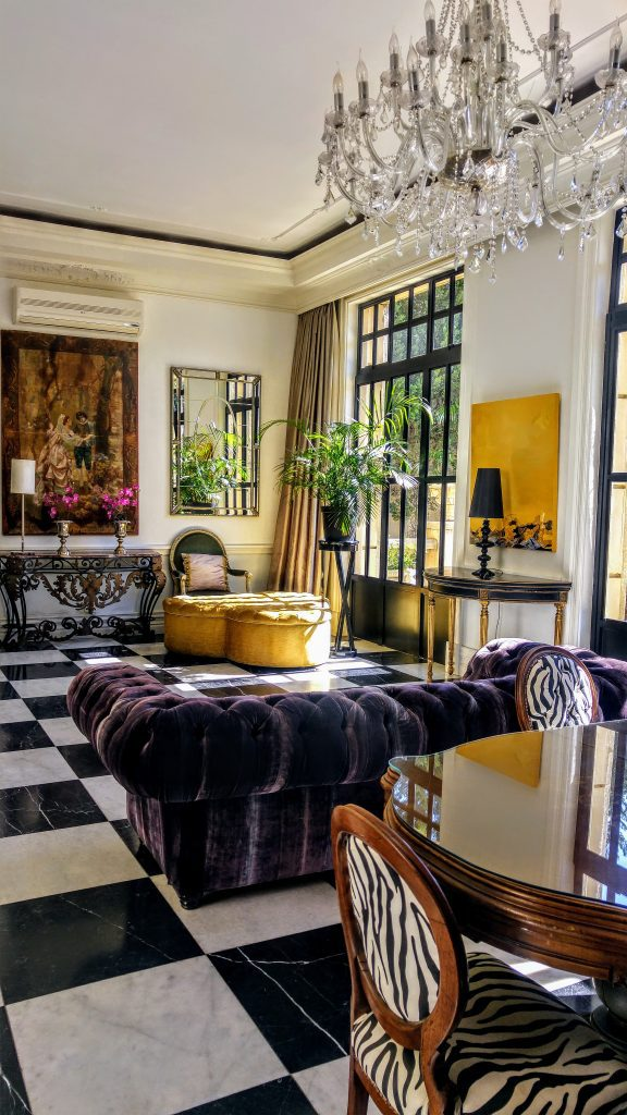 Luxury hotel in Johannesburg, South Africa