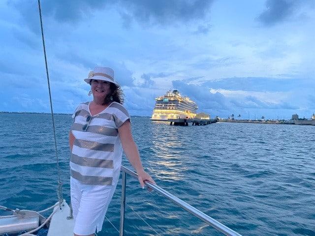 Lori Ekdahl in Bermuda