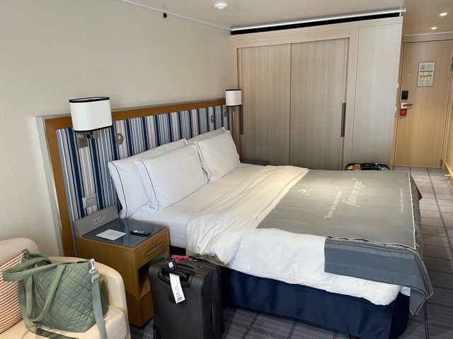 Stateroom on Viking ocean cruise ship